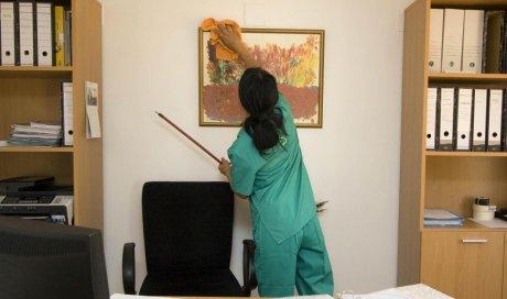 Nettoyage et désinfection de bureaux d'entreprise à Caluire-et-Cuire